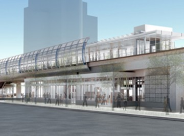 Main Street Station Rendering