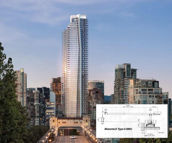 One Burrard Place with Manntech Type 6